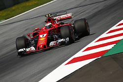 July 7, 2017 - Spielberg, Austria - Motorsports: FIA Formula One World Championship 2017, Grand Prix of Austria, .#7 Kimi Raikkonen (FIN, Scuderia Ferrari) (Credit Image: © Hoch Zwei via ZUMA Wire)