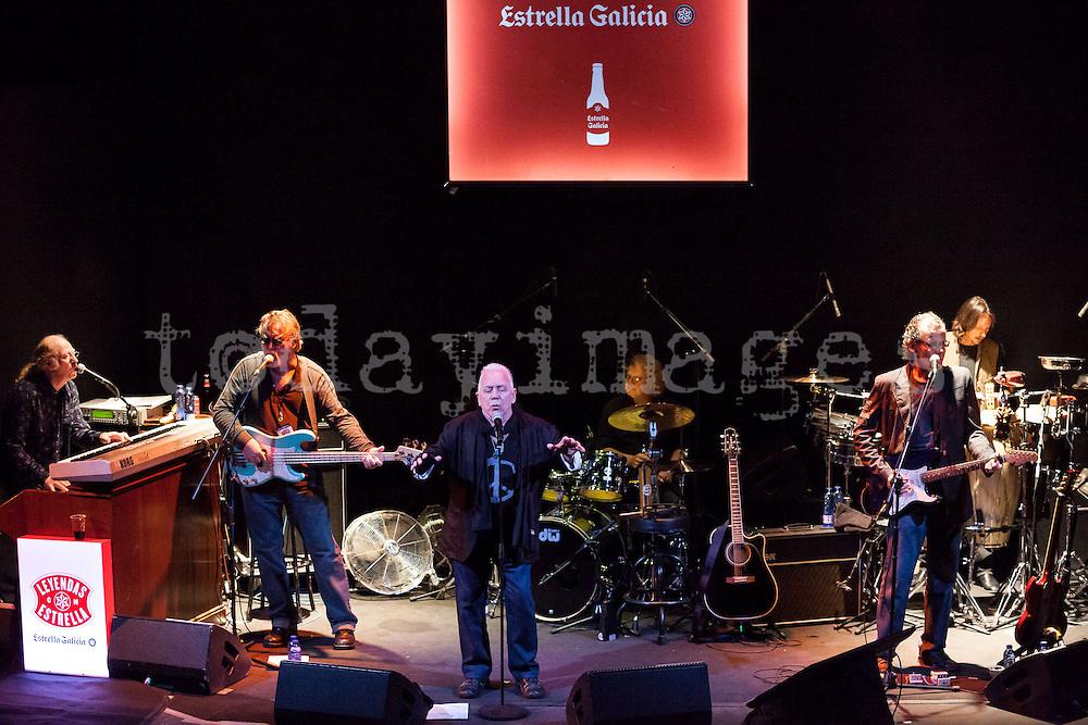 Eric Burdon presents his last album  'Till Your River Runs Dry' at  the Teatro Lara in Madrid, 2013