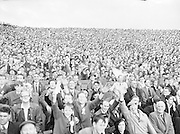 All Ireland Senior Football Championship Final, Dublin vs Derry,  Action shot, 28.09.1958, 09.28.1958, 28th September 1958,  .Dublin 2-12 Derry 1-9, 28091958AISFCF,.