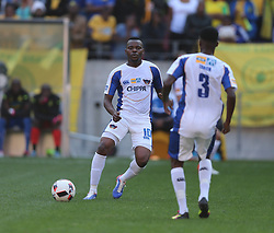 Andile Mbenyane of Chippa United during the 1st leg of the MTN8 Semi Final between Chippa United and Mamelodi Sundowns held at the Nelson Mandela Bay Stadium in Port Elizabeth, South Africa on the 11th September 2016<br /><br />Photo by: Richard Huggard / Real Time Images