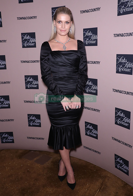 Lady Kitty Spencer at the Town & Country Jewelry Awards in New York.