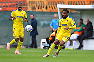 Tom Soares (19) of AFC Wimbledon during the EFL Sky Bet League 1 match between Plymouth Argyle and AFC Wimbledon at Home Park, Plymouth, England on 6 October 2018.