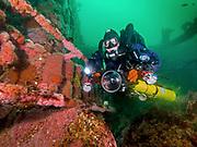 ''HMCS Yukon'' Shipwreck