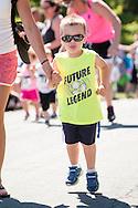 Middletown, New York - YMCA Ruthie Run on June 12, 2016.