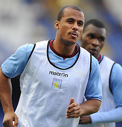 "Aston Villa's Gabriel Agbonlahor  - Photo mandatory by-line: Joe Meredith/JMP - Tel: Mobile: 07966 386802 21/08/2013 - SPORT - FOOTBALL - Stamford Bridge - London - Chelsea V Aston Villa - Barclays Premier League - EDITORIAL USE ONLY. No use with unauthorised audio, video, data, fixture lists, club/league logos or ""live"" services. Online in-match use limited to 45 images, no video emulation. No use in betting, games or single club/league/player publications"