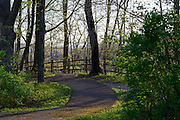 Photo of walking Path at Caesar Creek State Park, near Waynesville, Ohio, in Warren County.
