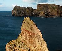 Rugged coast Tory island Ireland North West