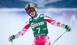28.12.2014, Hohe Mut, Kühtai, AUT, FIS Ski Weltcup, Kühtai, Riesenslalom, Damen, 2. Durchgang, im Bild Kathrin Zettel (AUT) // Kathrin Zettel of Austria reacts after 2nd run of Ladies Giant Slalom of the Kuehtai FIS Ski Alpine World Cup at the Hohe Mut Course in Kuehtai, Austria on 2014/12/28. EXPA Pictures © 2014, PhotoCredit: EXPA/ JFK