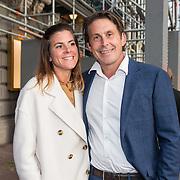 NLD/Amsterdam/20190916 - Prinses Irene viert verjaardag bij een ode aan de natuur , Lodewijk Hoekstra met zijn zus