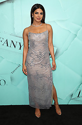 October 9, 2018 - New York City, New York, USA - 10/9/18.Priyanka Chopra at the Tiffany Blue Book Gala in New York City. (Credit Image: © Starmax/Newscom via ZUMA Press)