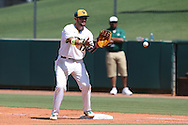 28 May 2016: Cal Poly Pomona's Nic Hernandez. The Cal Poly Pomona Broncos played the Southern Indiana Eagles in Game 2 of the 2016 NCAA Division II College World Series  at Coleman Field at the USA Baseball National Training Complex in Cary, North Carolina. Cal Poly Pomona won the game 2-1 in ten innings.