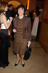 LADY ARCHER at a fundraising gala to celebrate 150 years of The National Portrait Gallery, at the NPG, St.Martin's Place, London on 28th February 2006.<br /><br />NON EXCLUSIVE - WORLD RIGHTS