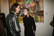IVOR BRAKA AND EMMA SIMPSON, Whitechapel Exhibition Auction preview party.Artists from all over the world contribute to the Whitechapel's major auction, to raise funds towards the Gallery's expansion and future programmes.Sotheby's. 12 October 2006. . -DO NOT ARCHIVE-© Copyright Photograph by Dafydd Jones 66 Stockwell Park Rd. London SW9 0DA Tel 020 7733 0108 www.dafjones.com