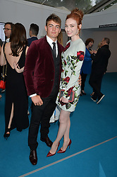 ELEANOR TOMLINSON and BEN ATKINSON at the Glamour Women of The Year Awards held in Berkeley Square, London on 2nd June 2015.