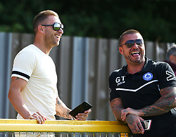August 28, 2017 - London, United Kingdom - Glenn Tamplin manager of Billericay Town.during Bostik League Premier Division match between Thurrock vs Billericay Town at  Ship Lane Ground, Aveley on 28 August 2017  (Credit Image: © Kieran Galvin/NurPhoto via ZUMA Press)