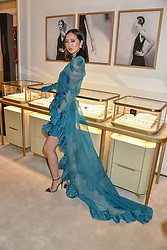 Betty Bachz at reopening of the Cartier Boutique, New Bond Street, London, England. 31 January 2019. <br /> <br /> ***For fees please contact us prior to publication***