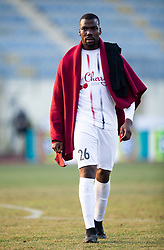 Mathias Pogba of Sezana, brother of Paul Pogba after  football match between NK Domzale and NK CB24 Tabor Sezana in 22nd Round of Prva liga Telekom Slovenije 2020/21, on February 21, 2021 in Sports park Domzale, Slovenia. Photo by Vid Ponikvar / Sportida