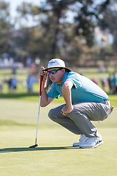 January 27, 2019 - San Diego, CA, U.S. - SAN DIEGO, CA - JANUARY 27: Joel Dahmen during the final round of the Farmers Insurance Open at Torrey Pines Golf Club on January 27, 2019 in San Diego, California. (Photo by Alan Smith/Icon Sportswire) (Credit Image: © Alan Smith/Icon SMI via ZUMA Press)