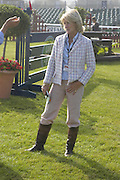 Lucinda Green. The Land Rover Burghley Horse Trials. 4 September. ONE TIME USE ONLY - DO NOT ARCHIVE  © Copyright Photograph by Dafydd Jones 66 Stockwell Park Rd. London SW9 0DA Tel 020 7733 0108 www.dafjones.com