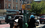BROOKLYN, NEW YORK-MAY 14, 2020- Visuals of Brooklynites as they make the come-back from the Covid 19 epidemic from March 2020 - May 2020 in the Lefferts Gardens & East Flatbush sections of Brooklyn, New York.   (Photo by Terrence Jennings/terrencejennings.com)