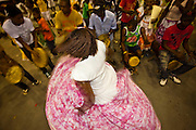 Macapa_AP, Brasil...Comunidade remascente de quilombolas do Curiau, em Macapa, Amapa. Na foto a danca tipica Marabaixo...The Quilombola remaining of Curiau, in Macapa, Amapa. In this photo  the typical dance Marabaixo...Foto: JOAO MARCOS ROSA / NITRO