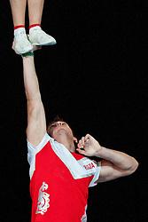 Demetra 2, Russia at European Cheerleading Championship 2011, on July 2, 2011, in SRC Stozice, Ljubljana, Slovenia (Photo by Matic Klansek Velej / Sportida)