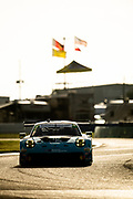 November 12-14, 2020. IMSA Weathertech Mobil 1 Sebring 12h: #16 Wright Motorsports, Porsche 911 GT3 R, Ryan Hardwick, Patrick Long, Jan Heylen