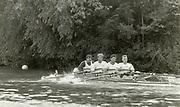 Henley on Thames, England, 1990 Henley Royal Regatta, River Thames, Henley Reach,  [© Peter Spurrier/Intersport Images], Tideway Scullers School, M4X,