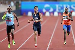 July 21, 2017 - Monaco, Monaco - Wayde Van Niekerk of South Africa runs to win the 400m of the IAAF Diamond League Herculis meeting at the Stade Louis II in Monaco on July 17, 2017. (Credit Image: © Manuel Blondeau via ZUMA Wire)