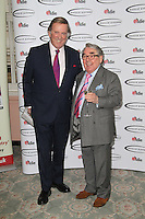 Terry Wogan; Ronnie Corbett, The Oldie of the Year Awards, Simpsons in the Strand London UK, 12 February 2013, (Photo by Richard Goldschmidt)