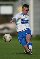 Fotball - Skeid - FK Haugesund 1-2, Vollsløkka. Trond Erik Bertelsen, Haugesund.<br /> <br /> Foto: Andreas Fadum, Digitalsport
