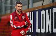 Sheffield United's Chris Basham arrives ahead of the Premier League match at Selhurst Park, London. Picture date: 1st February 2020. Picture credit should read: Paul Terry/Sportimage