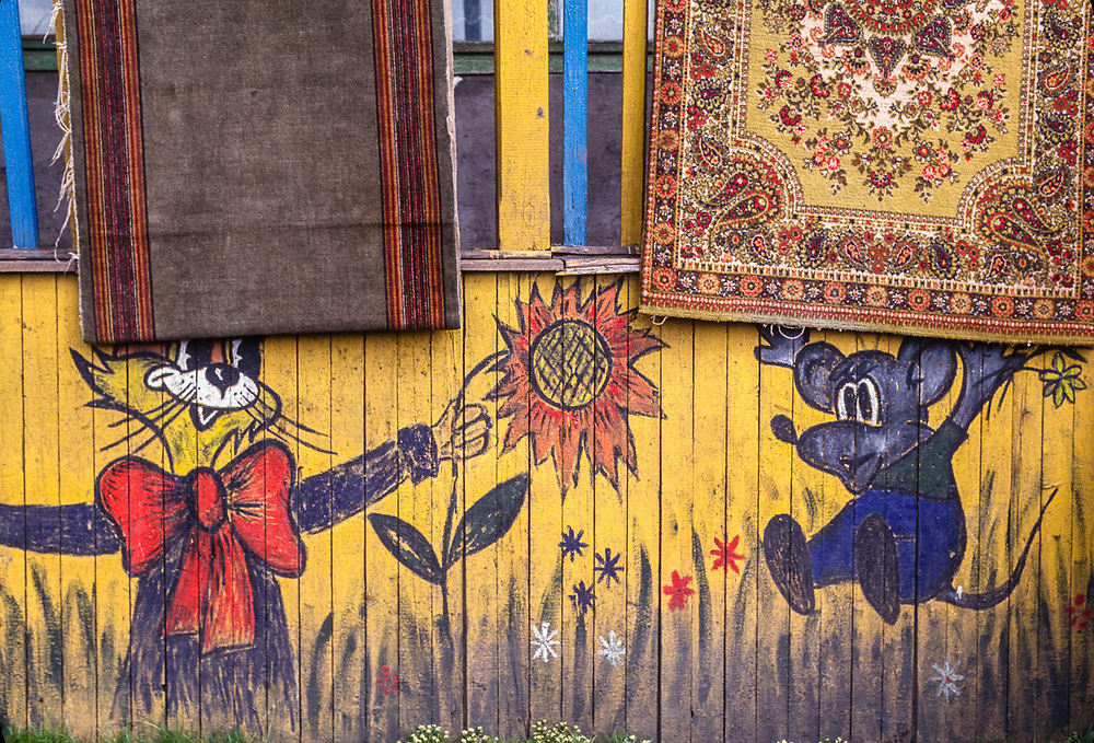 Community school, Village of Uelen, Chukotsk Peninsula, Northeast Russia, 1992