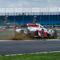 #7,  Toyota Gazoo Racing, Toyota TS050 Hybrid, LMP1H, driven by: Mike Conway, Kamui Kobayashi, Jose Maria Lopez,  on 16/08/2018 at the Silverstone 6H, 2018