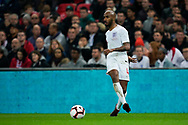Fabian Delph of England in action during the International Friendly match between England and USA at Wembley Stadium, London, England on 15 November 2018.