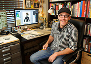 Tim Tomkinson's illustrations have appeared in some major publications such as Outdoors and The New Yorker where his individual style brings fun visuals to the printed page. His art helps brand a number of local businesses with sofisticated, artful logos.