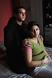 "Two of the Roma children, now adults, who were represented in the D.H. and Others v. Czech Republic case, the first challenge to systemic racial segregation in education to reach the European Court of Human Rights, are seen in Ostrava, Czech Republic on Feb. 28, 2012. When this case was first brought in 2000, Roma children in the Czech Republic were 27 times more likely to be placed in ""special schools,"" intended for the mentally disabled, than non-Roma children. In 2007, the Grand Chamber of the European Court of Human Rights ruled that this pattern of segregation violated nondiscrimination protections in the European Convention on Human Rights. Despite this landmark decision, little change has occurred: the ""special schools"" have been renamed but follow the same substandard curriculum and Roma continue to be assigned to these schools in disproportionate numbers. The process of integration has barely begun."
