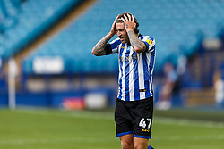 Josh Windass of Sheffield Wednesday adjusts his alice band - Mandatory by-line: Daniel Chesterton/JMP - 24/06/2020 - FOOTBALL - Hillsborough - Sheffield, England - Sheffield Wednesday v Huddersfield Town - Sky Bet Championship