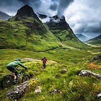 Scottish riding. Shot on location for Endura.
