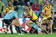 Motu Matu'u. Waratahs v Hurricanes. 2012 Super Rugby round 15 match. Allianz Stadium, Sydney Australia on Saturday 2 June 2012. Photo: Clay Cross / photosport.co.nz