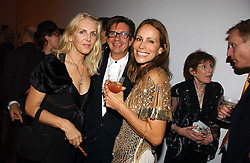 Left to right, FRANCESCO & GAEL BOGLIONE and ANDREA DELLAL at a party to celebrate the 90th birthday of Vogue magazine held at The Serpentine Gallery, Kensington Gardens, London on 8th November 2006.<br /><br />NON EXCLUSIVE - WORLD RIGHTS