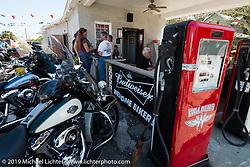 Ed Walden's bar, during Daytona Bike Week. FL, USA. March 9, 2014.  Photography ©2014 Michael Lichter.