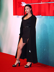 Leah Weller attending the Tomb Raider European Premiere held at Vue West End in Leicester Square, London
