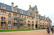 Oxford 2009-03-07. Zamek w Oxsfordzie.