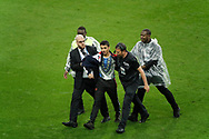 Security had catched the young man introduction while the game during the FIFA Friendly Game football match between France and Republic of Ireland on May 28, 2018 at Stade de France in Saint-Denis near Paris, France - Photo Stephane Allaman / ProSportsImages / DPPI