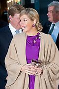 Maxima ontvangt Machiavelliprijs 2011.<br /> <br /> Prinses Máxima is onderscheiden voor haar wijze van communiceren. In perscentrum Nieuwspoort in Den Haag ontvangt zij de Machiavelliprijs 2011. Deze prijs gaat elk jaar naar iemand die uitblinkt op het gebied van publieke communicatie.<br /> <br /> Maxima receives Machiavelli Prize 2011.<br /> <br /> Princess Maxima is distinguished for its way of communicating. In Nieuwspoort press center in The Hague, she receives the Price Machiavelli 2011. This award goes annually to someone who excels in the field of public communication.<br /> <br /> Op de foto / On the photo:  Prinses Maxima komt aan / Princes Maxima Arrives