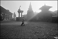 Nepal. Vallée de Kathmandu. Bakthapur. // Nepal. Kathmandu valley. Bakhtapur.