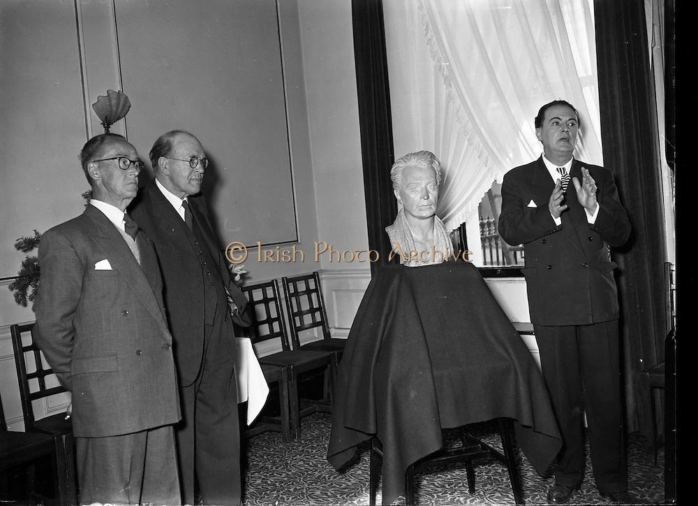 Bronze Bust Presentation of Michael MacLiamir,