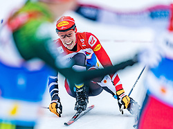 22.02.2019, Seefeld, AUT, FIS Weltmeisterschaften Ski Nordisch, Seefeld 2019, Nordische Kombination, Langlauf, im Bild Franz-Josef Rehrl (AUT) // Franz-Josef Rehrl of Austria during the Cross Country Competition of Nordic Combined for the FIS Nordic Ski World Championships 2019. Seefeld, Austria on 2019/02/22. EXPA Pictures © 2019, PhotoCredit: EXPA/ Stefan Adelsberger