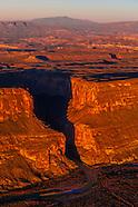 USA-Texas-Big Bend-Aerials-Santa Elena Canyon
